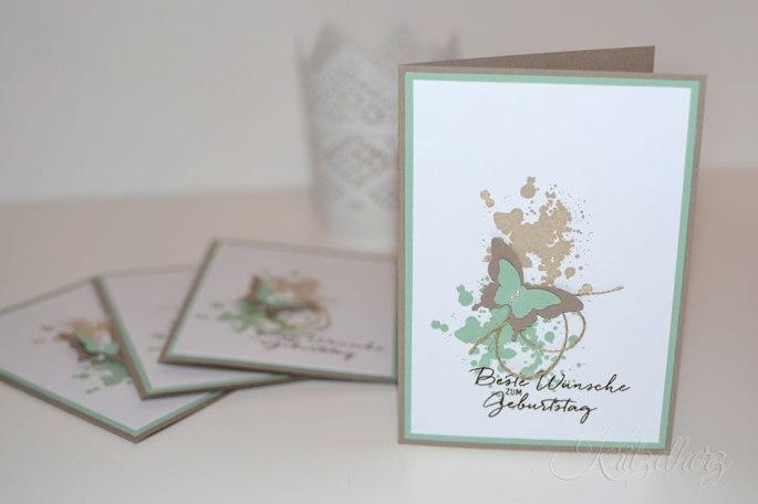 Schmetterlingskarten
